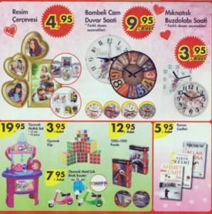 A101 11 Şubat saat-çerçeve-mutfak seti-oyuncak
