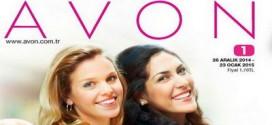 Avon 2015 yılı 1. Kampanya Kataloğu (26 Aralık – 23 Ocak 2015)