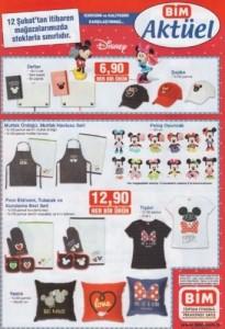 Bim 12 Şubat Aktüel Ürünler  mickey mouse  3