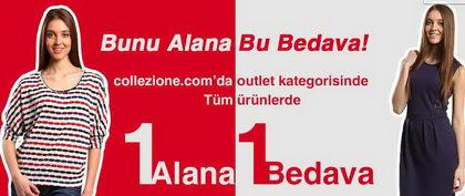 Collezione Outlet'de 1 Alana 1 Bedava