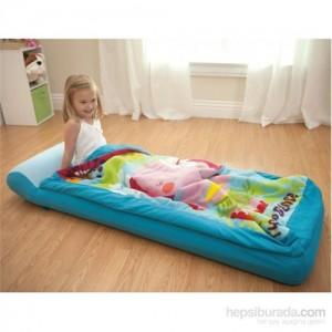 Intex Çantalı Tulumlu Çocuk Yatağı-1