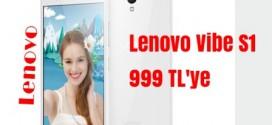 Lenovo Vibe S1 Cep Telefonu  999 TL ParafCard'a 949 TL