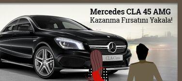 TTnet Online Alışveriş Festivali Çekiliş Kampanyası – Mercedes CLA 45 AMG Hediye