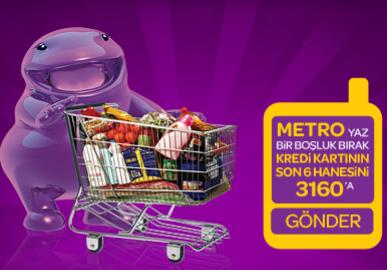 World'e özel Metro mağazalarından 50 TL Worldpuan hediye!