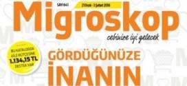 Migros 20 – 22 Şubat 2016 Haftasonu Kampanyası