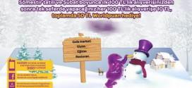 World Card Büyük Kış Kampanyası – 50 TL WorldPuan Hediye