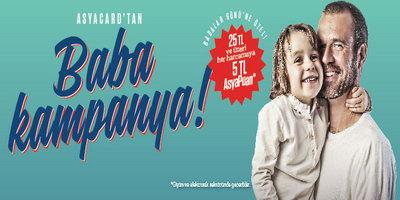 AsyaCard Babalar Günü Kampanyası 2014