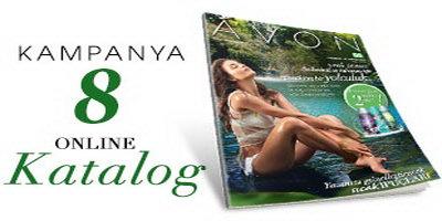 Avon 8. Kampanya Kataloğu 4 – 25 Temmuz 2014