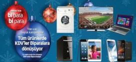 Bimeks 'te Tüm Ürünlere KDV Kadar BiPara Hediye (29 – 31 Aralık 2014)