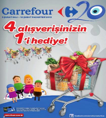 Carrefour Kampanya Kataloğu (05-18 Şubat 2013)