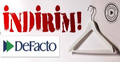 Defacto.com.tr'de Yeni Yıl İndirimi Başladı