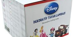 Disney Lisanslı İkili Tavan Sarkıtlar 11,95 TL