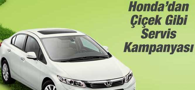 Honda Servis Bakımı Kampanyası 2014