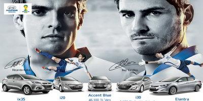 Tüm Hyundai'ler Dünya Kupası'na özel avantajlı koşullarla!