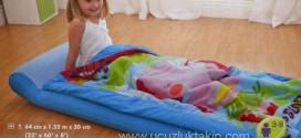 Intex Çantalı Tulumlu Çocuk Yatağı  29,50 TL
