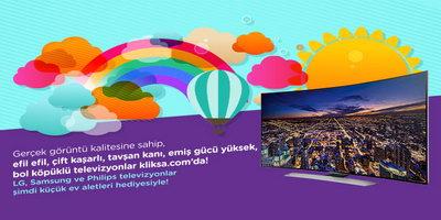 Kliksa.com'dan TV Alan Herkese Renkli Hediyeler!